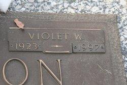 Violet W <i>Garrettson</i> Hickerson