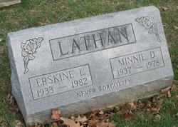 Minnie D. Lathan
