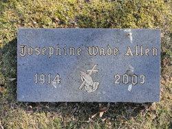 Josephine Pointer <i>Wade</i> Allen