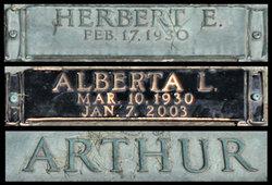 Herbert E Herb Arthur