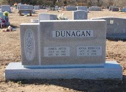 Anna Rebecca <i>Abels</i> Dunagan