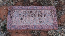 Samuel C Clarence Akridge