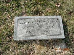 Margaret <i>Craft</i> Adkins