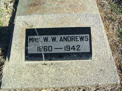 Mrs W W Andrews