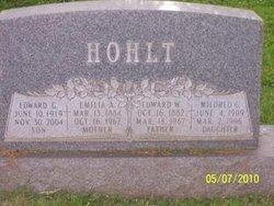 Mrs Amelia C Emily <i>Windler</i> Hohlt