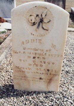 Addie M Cutts