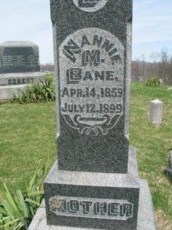 Nancy M. Nannie <i>Hormell</i> Bane