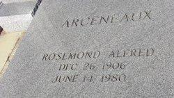 Rosemond Alfred Arceneaux