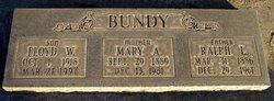 Mary Anna <i>Wood</i> Bundy