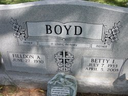 Fieldon A Boyd