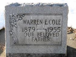 Warren Ephraim Cole