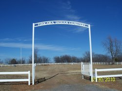 Tonkawa Indian Cemetery at Fort Oakland