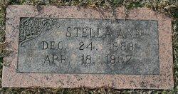Stella Ann <i>Steele</i> Hall