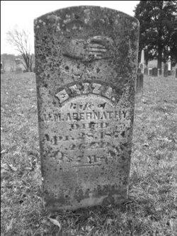 Elizabeth A Eliza <i>Wallace</i> Abernathy