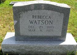 Rebecca <i>Morrow</i> Watson