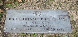 Billy Duane Pickering