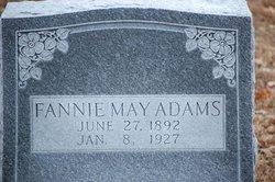Fannie May <i>Seay</i> Adams