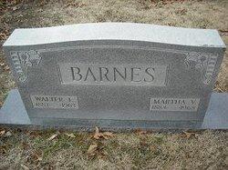 Martha V Barnes