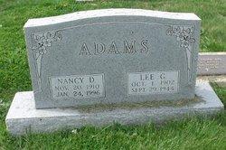 Nancy <i>Duncan</i> Adams