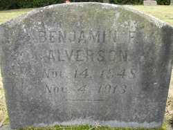 Benjamin F Alverson
