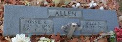 Willie Estelle <i>Etheridge</i> Allen