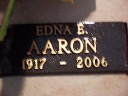 Edna E Aaron