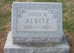 Edith M. Albitz