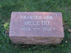Frances Ann <i>Tetley</i> Meletio