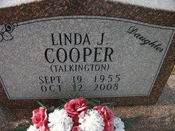 Linda J <i>Talkington</i> Cooper