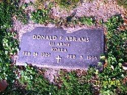 Donald F Abrams