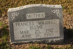 Frances Mildred Blume