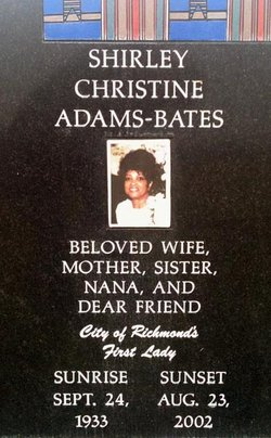 Shirley Christine Adams-Bates