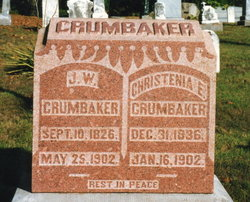 Christenia E <i>Nall</i> Crumbaker