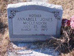 Annabell <i>Jones</i> McClendon