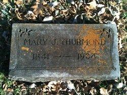 Mary Jane <i>Moore</i> Thurmond