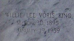 Willie Lee Voris King
