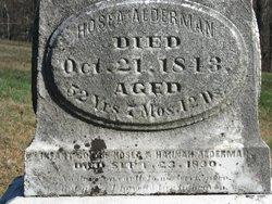 Infant Son Alderman