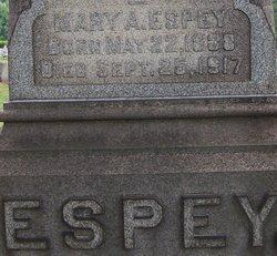 Mary A Espey