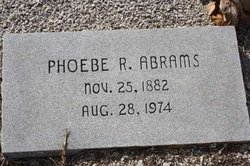 Phoebe Burton <i>Reagan</i> Abrams