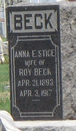 Anna Elsie <i>Stice</i> Beck