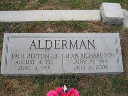 Jean <i>Richardson</i> Alderman