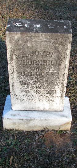 Missouri Jane <i>Thornhill</i> Goff