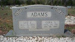 Sarah Cora Corie <i>Reid</i> Adams