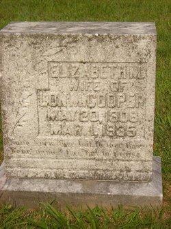 Elizabeth <i>Mattingly</i> Cooper