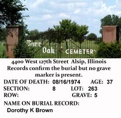 Dorothy K Brown