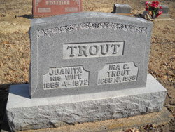 Juanita M <i>McCarty</i> Trout