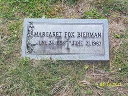 Margaret <i>Fox</i> Bierman