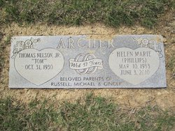 Helen Marie <i>Phillips</i> Archer