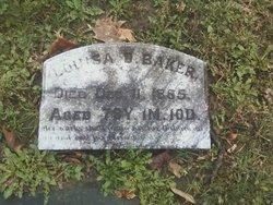 Louisa D <i>Davis</i> Baker