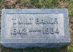 Thomas Milton Baker